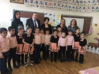 On February 6, Levon Mkrtchyan, Minister of Education of Armenia and  Armine K. Hovannisian, Executive Director of Junior Achievement of Armenia visited Argel's school in the region of Kotayq.