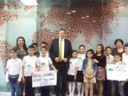 CAREER DAY FOR ELEMENTARY SCHOOL STUDENTS AT HSBC BANK